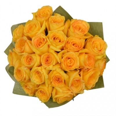 Buquê 24 Rosas Amarelas