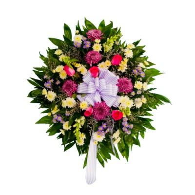 Coroa de Flores Vibrante