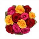 Bouquet 12 Rosas Mistas