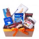 Cesta de Chocolates Importados e Nutella