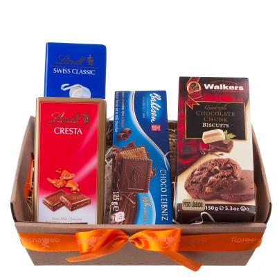Chocolates Galore Gift Basket