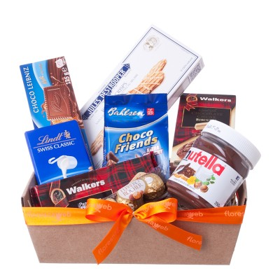 Chocolates and Nutella Gift Basket