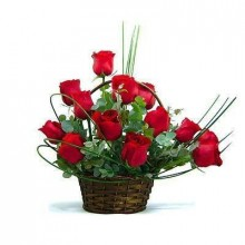 basket-with-12-roses-and-lush-greens