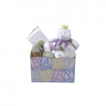 Fresh and Clean Natura Gift Basket for Baby Girl
