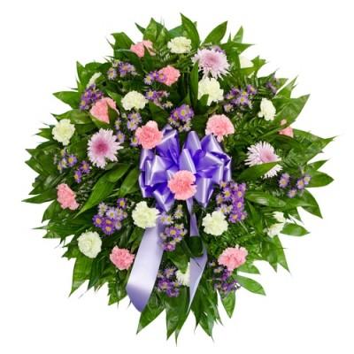 Corona de Flores Serenidad
