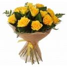 Ramo de 12 Rosas Amarillas