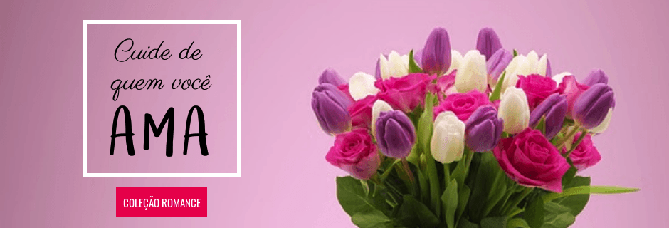 Flores Romanticas e de Amor - Entrega em Todo o Brasil