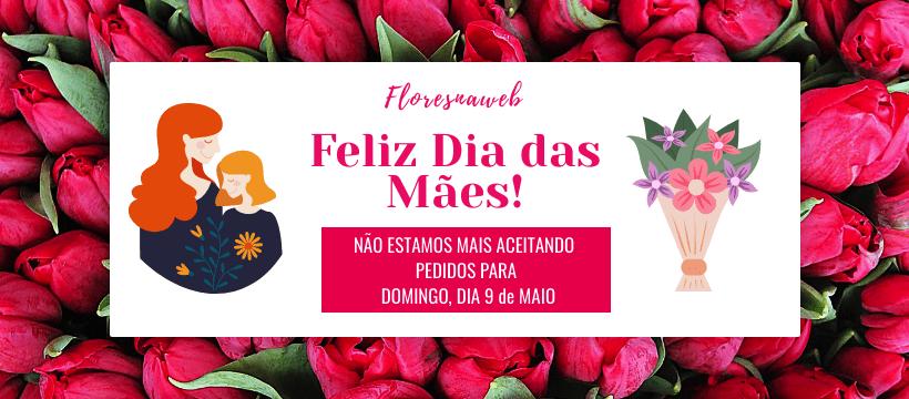 Site fechado para pedidos para o Dia das Mães